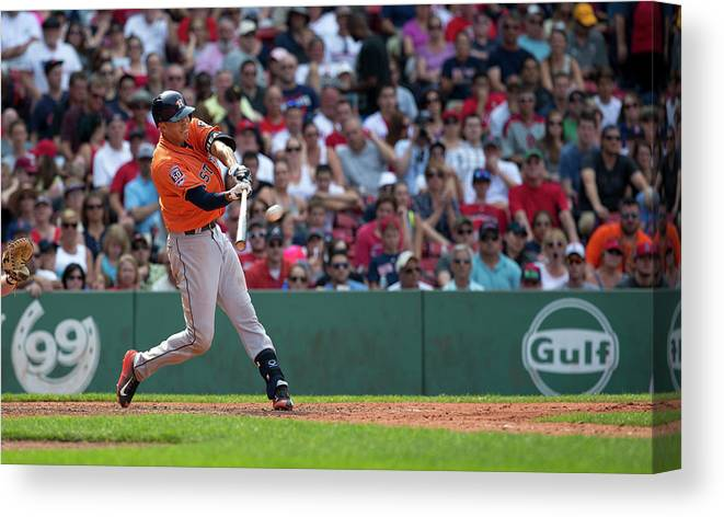 People Canvas Print featuring the photograph Carlos Correa by Rich Gagnon