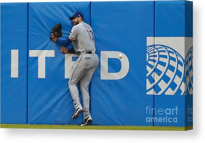 People Canvas Print featuring the photograph Joey Gallo by Jon Durr
