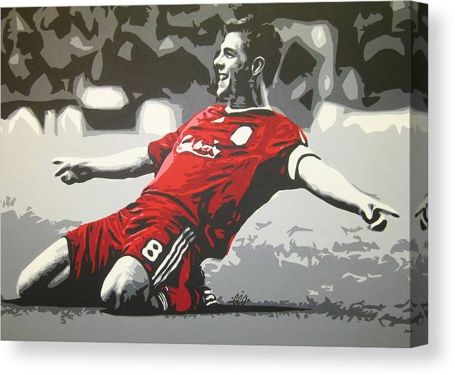 STEVEN GERRARD LIVERPOOL PHOTO PRINT ON FRAMED CANVAS WALL ART HOME DECORATION