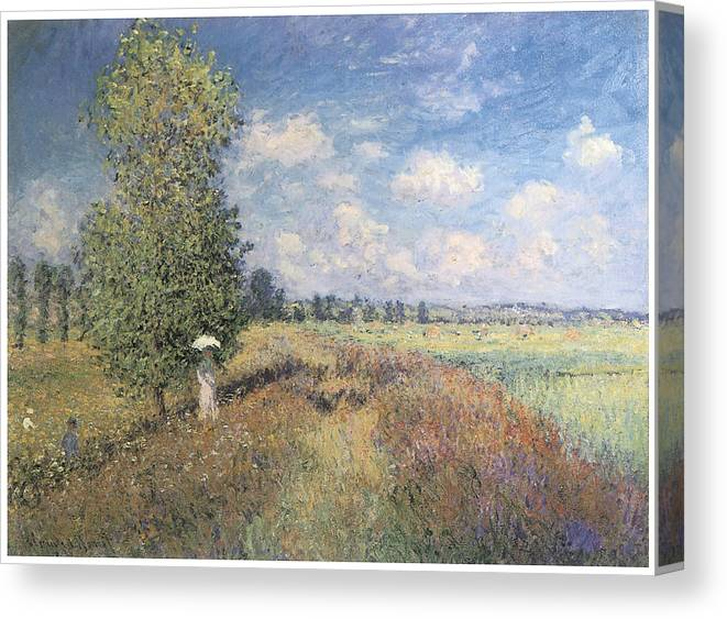Summer Field Of Poppies Canvas Print Canvas Art By Claude Monet