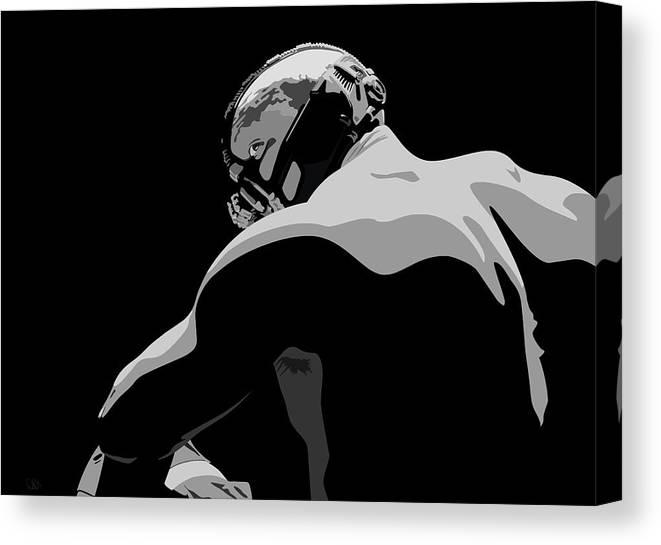 "Batman Bane Tom Hardy 8x12/"" Stretched Canvas Art Print Quality"