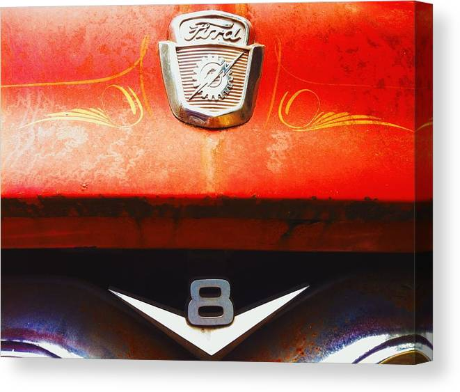Ford Canvas Print featuring the photograph Ford - 8 by Eddie G