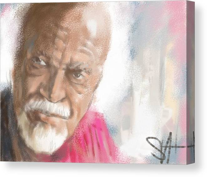 "David Kaparalic ""ili Ili"" Maui Canvas Print featuring the digital art Ili Ili by Scott Waters"