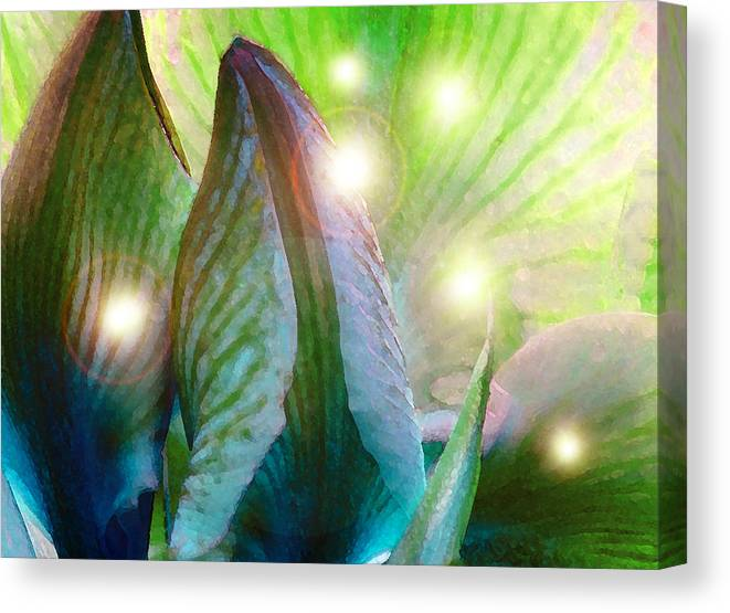 Fairies Canvas Print featuring the photograph Leave Room In Your Garden For Fairies To Dance by James Temple