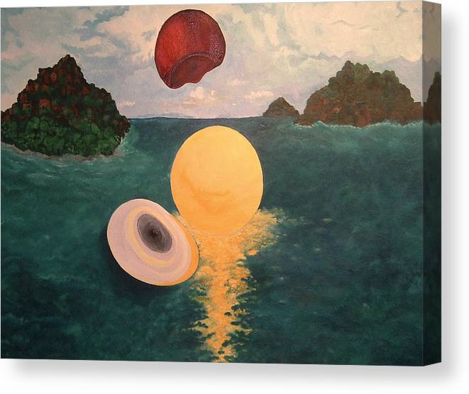 Light Canvas Print featuring the painting Light Revealed by Nancy Brockett