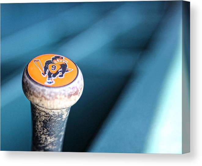 American League Baseball Canvas Print featuring the photograph Baltimore Orioles V Detroit Tigers by Leon Halip