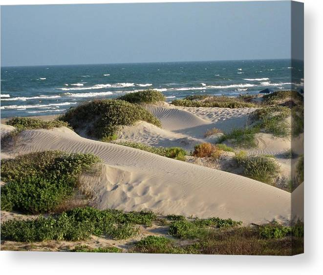 Tranquility Canvas Print featuring the photograph Sand Dunes by Joe M. O'connell