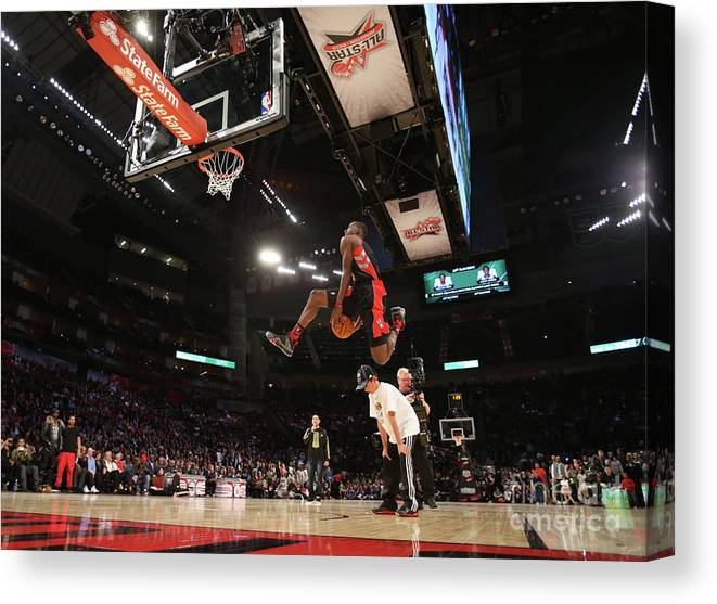 Nba Pro Basketball Canvas Print featuring the photograph Terrence Ross by Nathaniel S. Butler