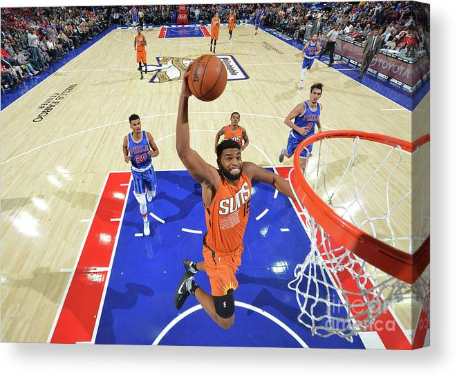 Nba Pro Basketball Canvas Print featuring the photograph Alan Williams by Jesse D. Garrabrant