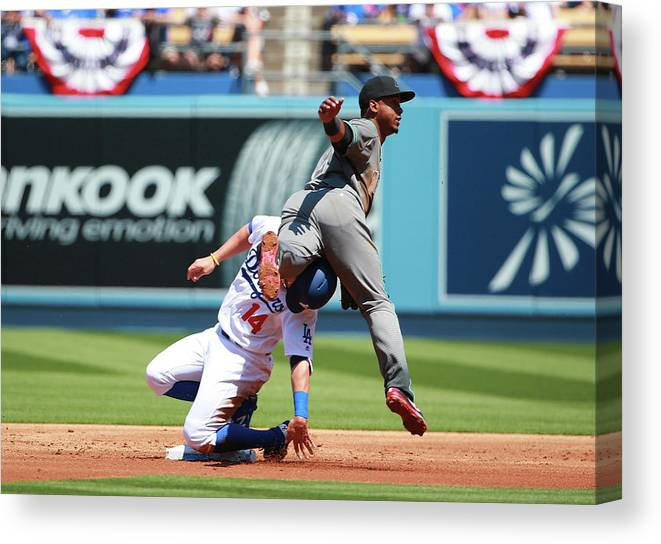 People Canvas Print featuring the photograph Jean Segura by Victor Decolongon