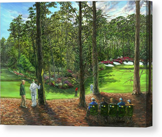Sunday at The Masters by Steph Moraca