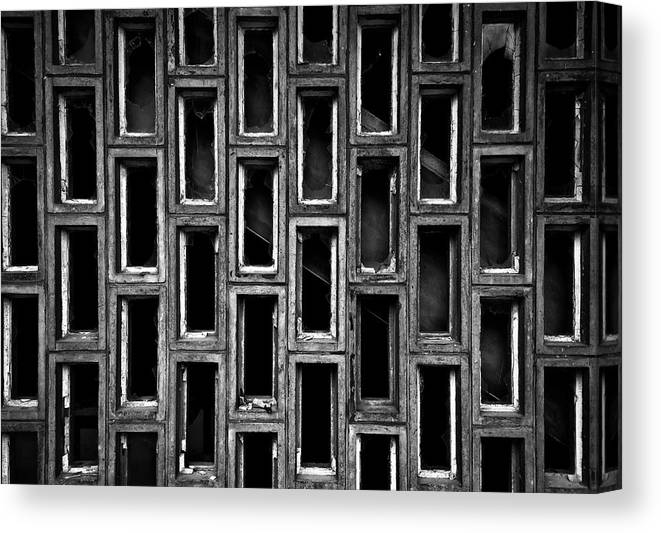 Rectangle Canvas Print featuring the photograph Destruction by Ssmyg