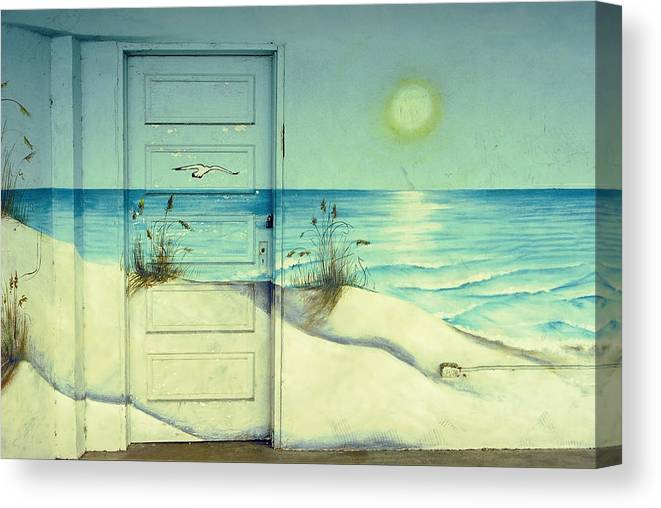 Architecture Canvas Print featuring the photograph Door of Perception by Skip Hunt