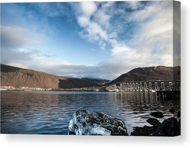 Tromso Canvas Print featuring the photograph Norway Day Shot by Jordanwhipps1987