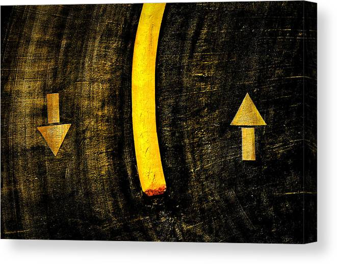Signs Canvas Print featuring the photograph On the Street by Jim Painter
