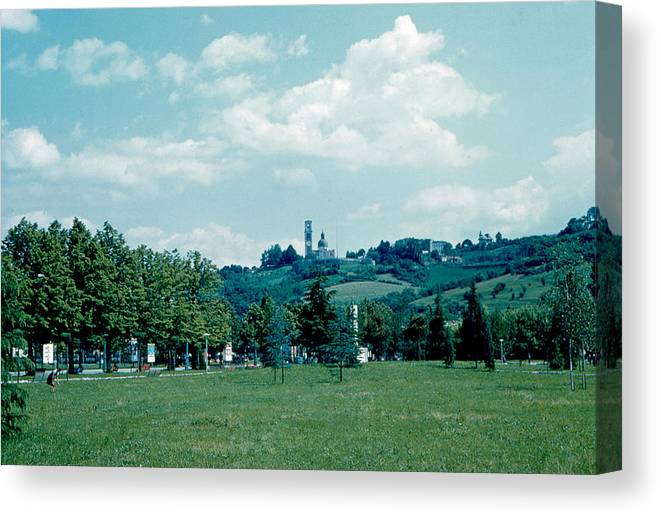 Vicenza Canvas Print featuring the photograph Vicenza Italy 6 1962 by Cumberland Warden
