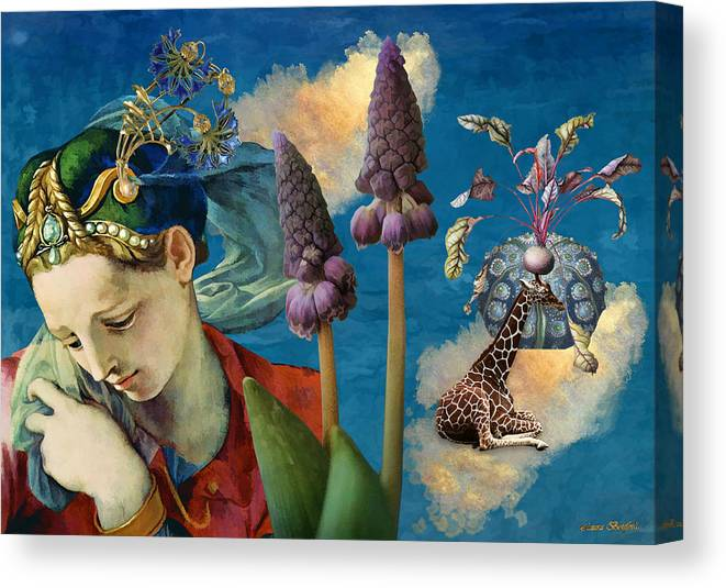 Dreamscape Canvas Print featuring the digital art Day Dreams by Laura Botsford