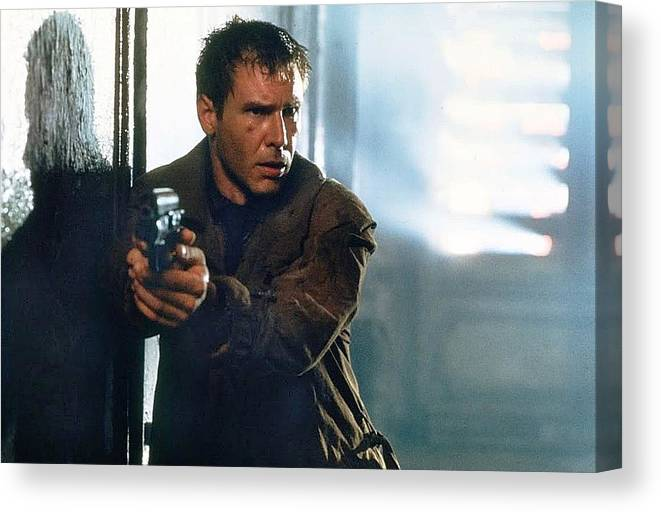 BLADE RUNNER HARRISON FORD RICK DECKARD CANVAS PRINT PICTURE WALL ART