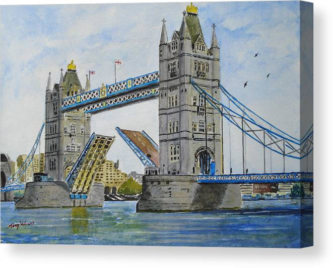 tower bridge canvas print painting framed picture wall art london various sizes