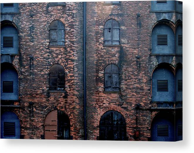 Outdoors Canvas Print featuring the photograph Civil War Era Spice Warehouse by © Rick Elkins