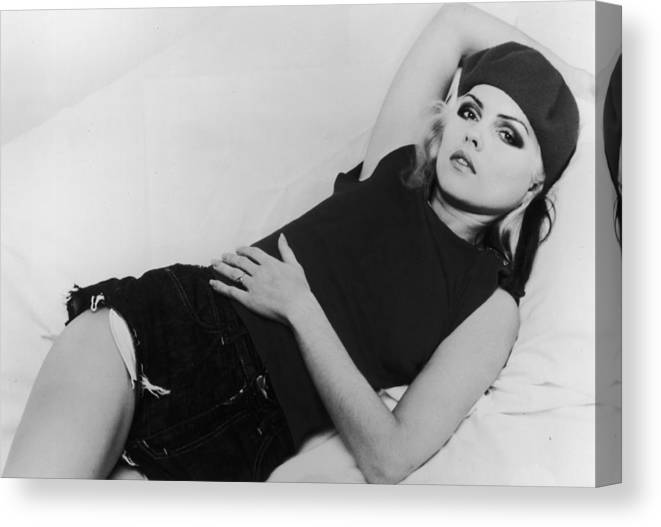 Singer Canvas Print featuring the photograph Deborah Harry by Hulton Archive