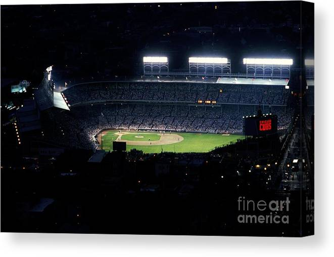 1980-1989 Canvas Print featuring the photograph General View by Jonathan Daniel