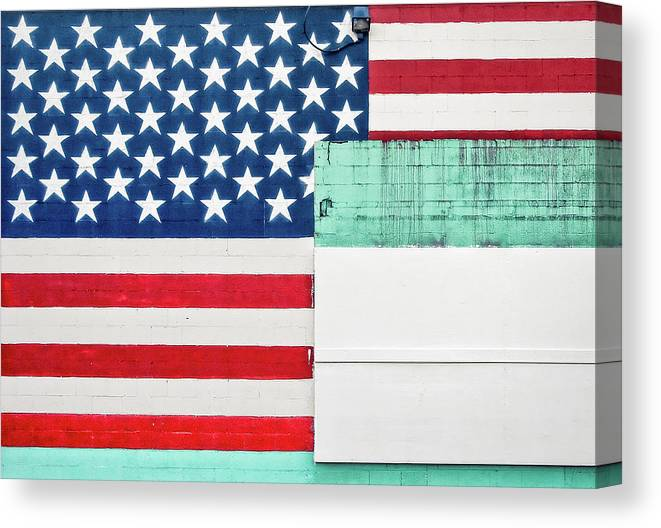 Americana Canvas Print featuring the photograph Industrial Glory by Todd Klassy