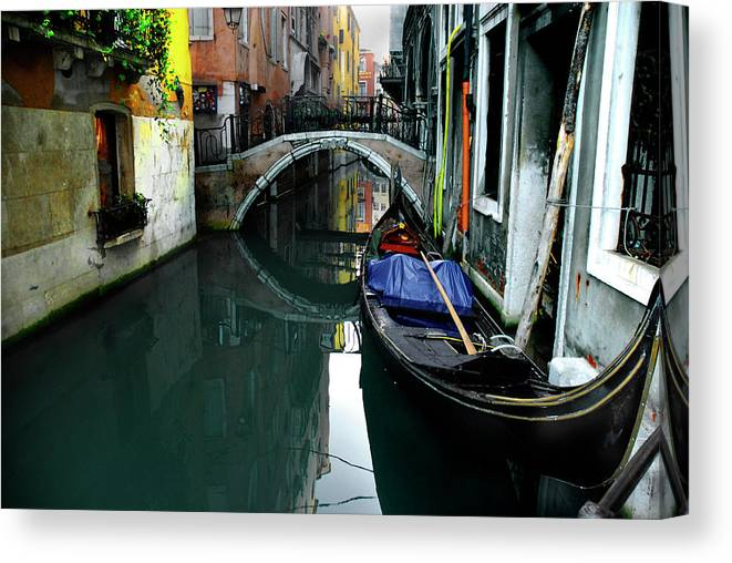 Old Town Canvas Print featuring the photograph Italy, Venice by Photostock-israel
