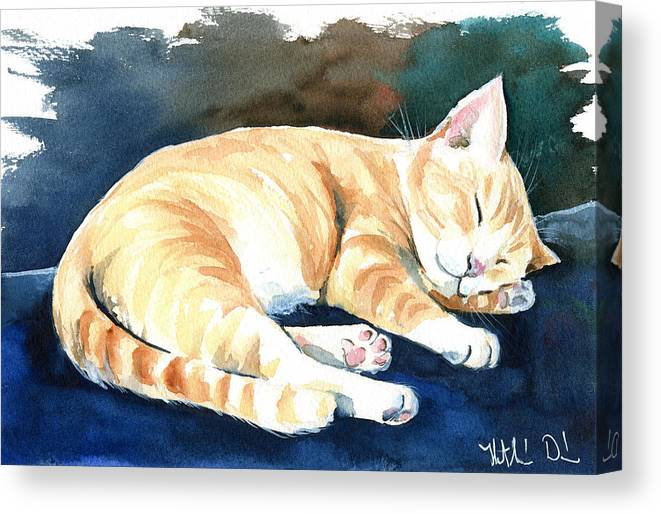 """16/""""x20/""""Sleeping cat Paintings HD Print on Canvas Home Decor Wall Art Pictures"""