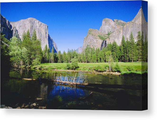 Scenics Canvas Print featuring the photograph Yosemite National Park, California, Usa by Neil Emmerson / Robertharding