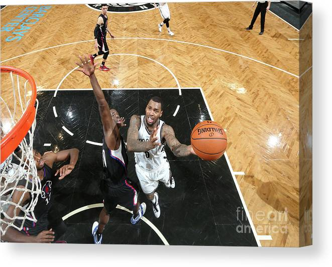 Nba Pro Basketball Canvas Print featuring the photograph Sean Kilpatrick by Nathaniel S. Butler