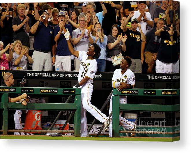 People Canvas Print featuring the photograph Josh Bell by Justin K. Aller