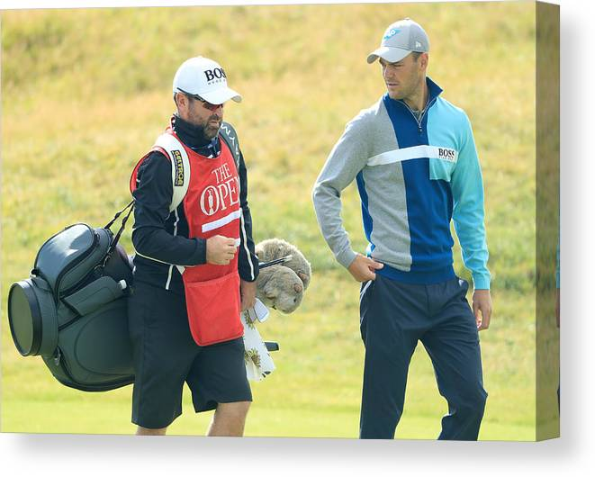 Three Quarter Length Canvas Print featuring the photograph 146th Open Championship - Final Round by Andrew Redington