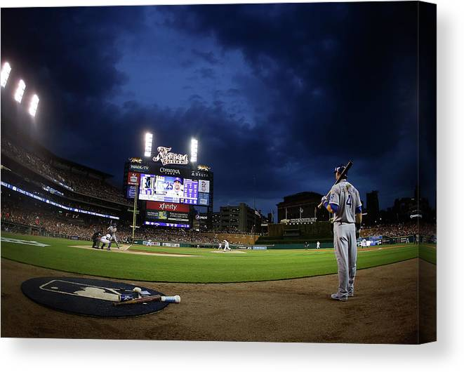 People Canvas Print featuring the photograph Alex Gordon by Gregory Shamus