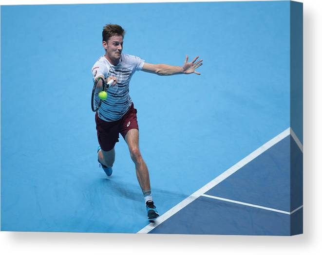 Barclays Canvas Print featuring the photograph Barclays ATP World Tour Finals 2016 by NurPhoto