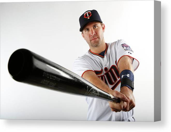 Media Day Canvas Print featuring the photograph Brian Dozier by Brian Blanco