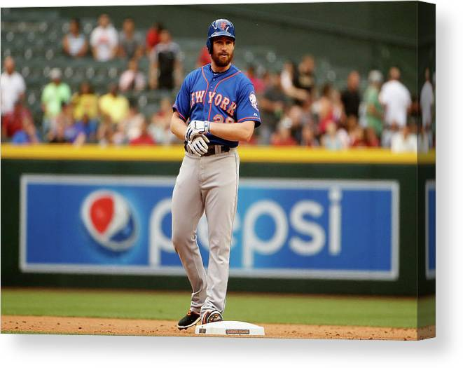 People Canvas Print featuring the photograph Daniel Murphy by Christian Petersen