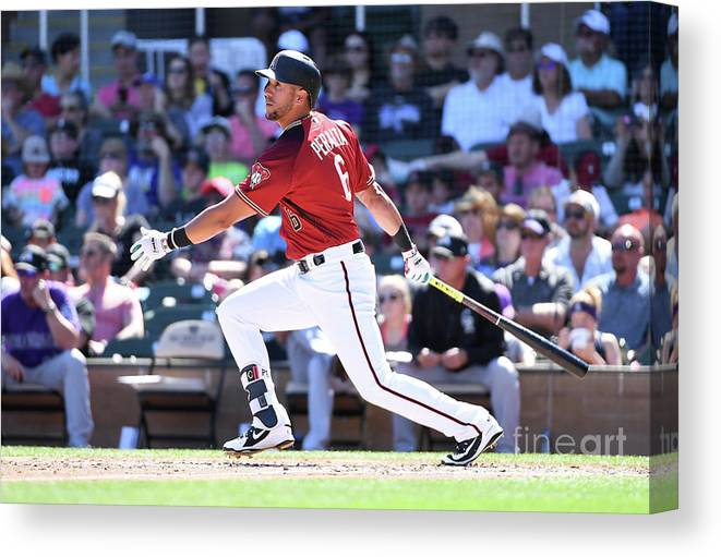 Following Canvas Print featuring the photograph David Peralta by Norm Hall
