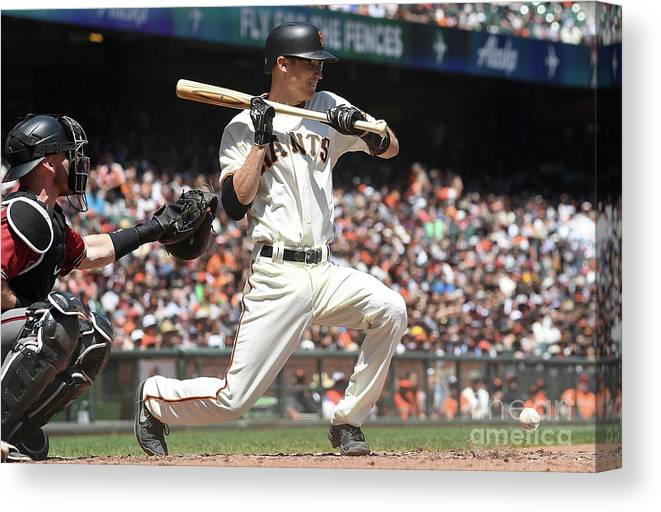 San Francisco Canvas Print featuring the photograph Kelby Tomlinson by Thearon W. Henderson