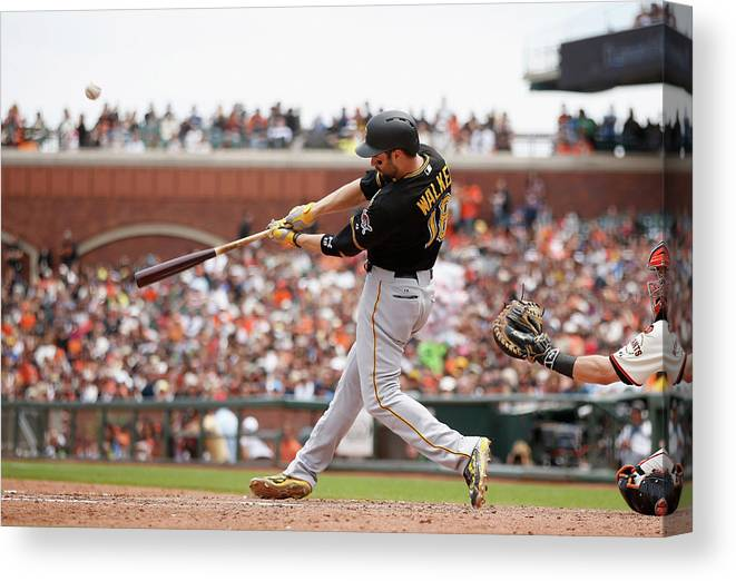 San Francisco Canvas Print featuring the photograph Neil Walker by Ezra Shaw