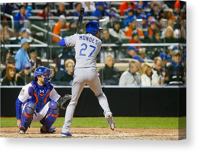 People Canvas Print featuring the photograph Raul Mondesi by Jim McIsaac