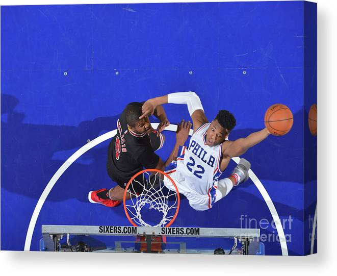 Nba Pro Basketball Canvas Print featuring the photograph Richaun Holmes by Jesse D. Garrabrant
