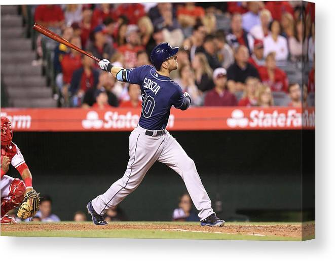 People Canvas Print featuring the photograph Steven Souza by Stephen Dunn
