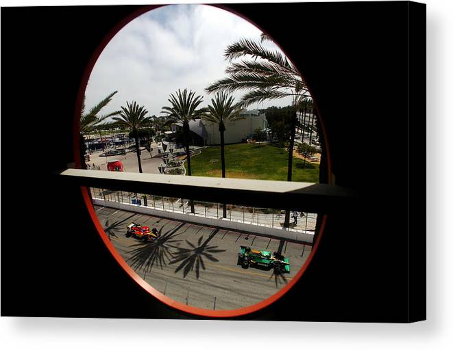 California Canvas Print featuring the photograph Toyota Grand Prix of Long Beach - Day 3 by Donald Miralle
