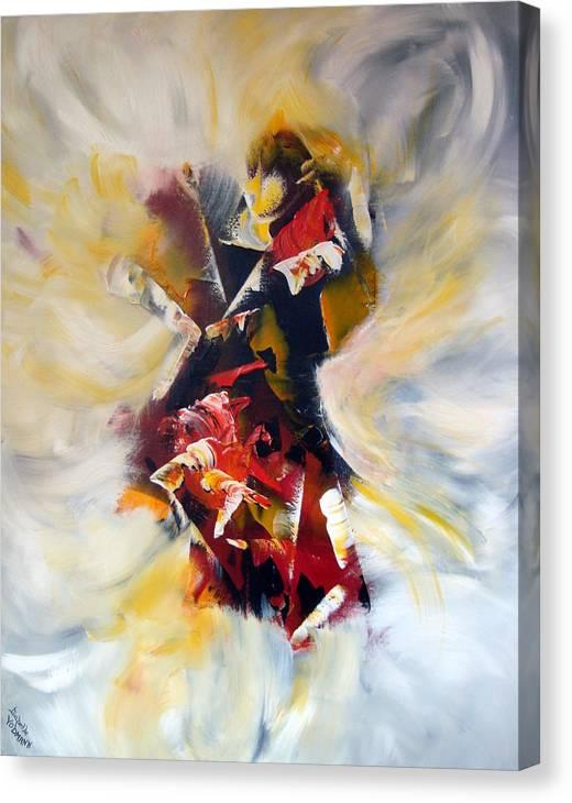 Limited Time Promotion: La Cle Des Songes Stretched Canvas Print