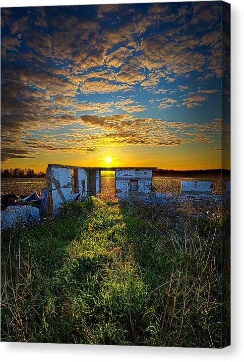 Limited Time Promotion: Lost In Time Stretched Canvas Print