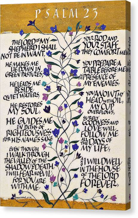 Psalm 23 by Dave Wood