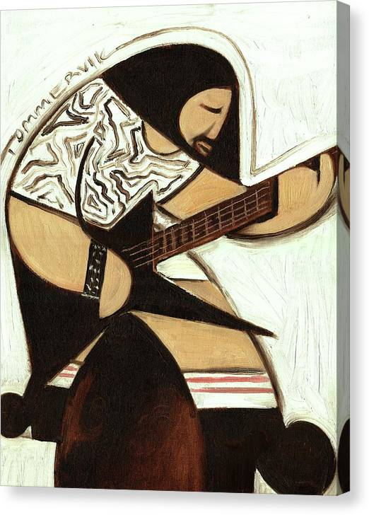Rocker Canvas Print featuring the painting Tommervik Rocker Art Print by Tommervik