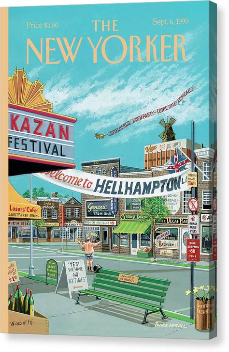 Welcome To Hellhampton by Bruce McCall