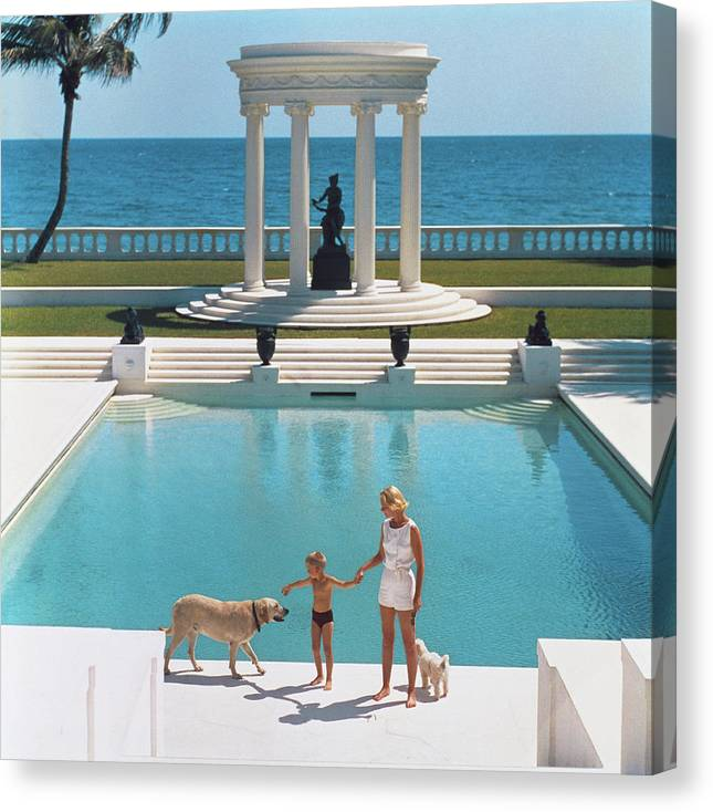Nice Pool Canvas Print